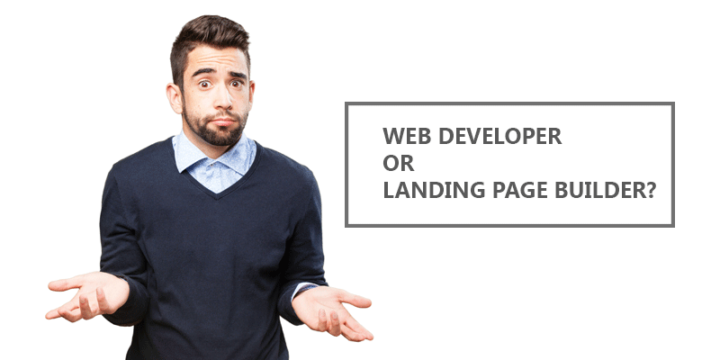 Marketinginspire - landing page
