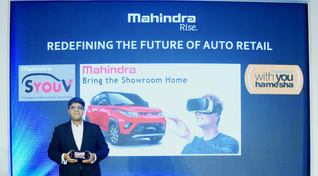 Mahindra VR customer experience